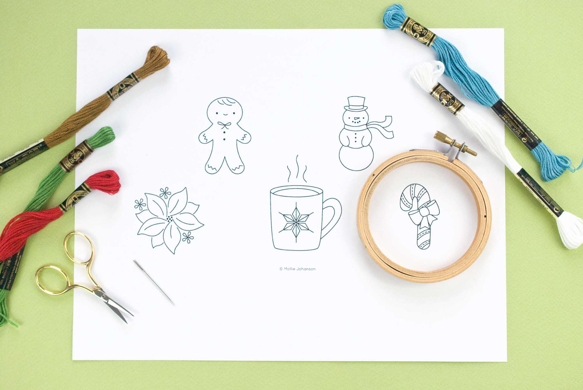 Christmas Embroidery Patterns Free.10 Free Christmas Hand Embroidery Patterns