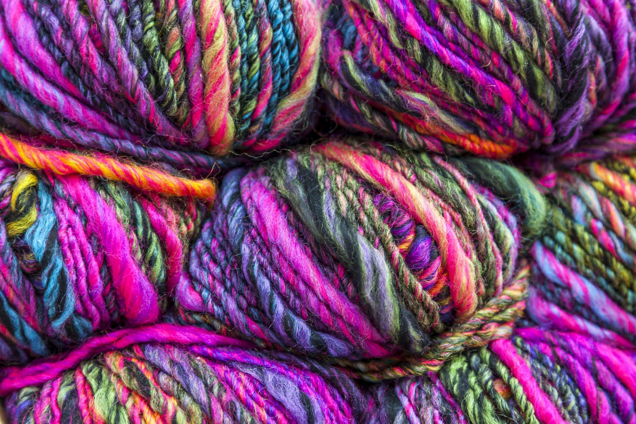 King Cole Riot Chunky 100g Knitting Yarn Rainbow (623) | C&H