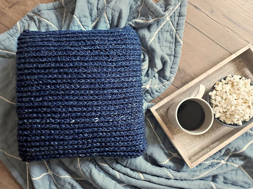 Easy Crochet Pillow Free Pattern