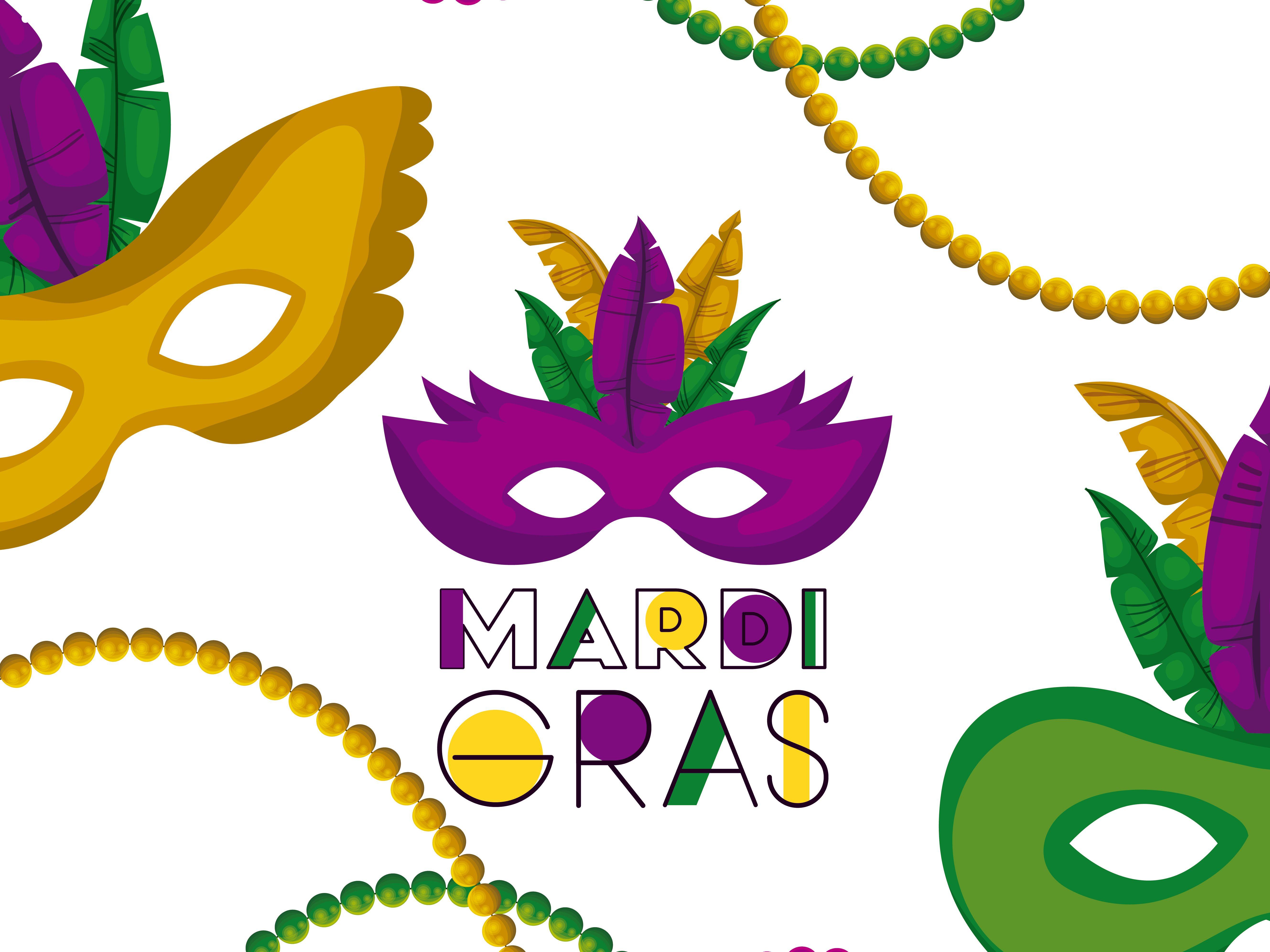 Hundreds Of Free Mardi Gras Clip Art Images