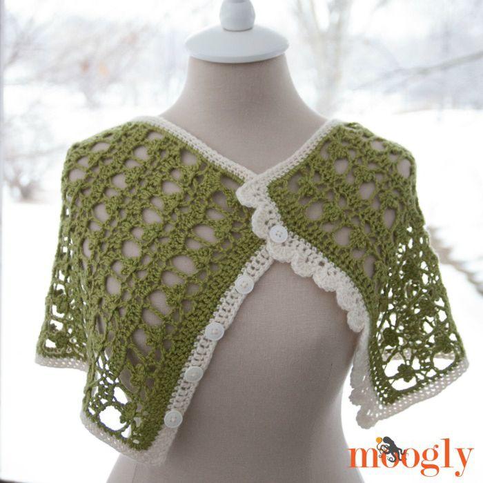 Shamrock Crochet Cowl Free Pattern