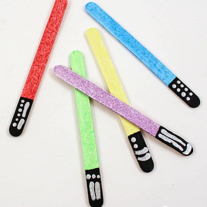 Lightsaber Bookmarks