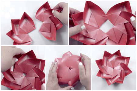 Modular origami lotus flower modular origami lotus 9 mightylinksfo