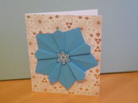 Ten ideas for origami greeting cards origami christmas card m4hsunfo