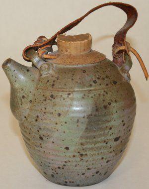 Stoneware teapot by J.R.Lafferty.