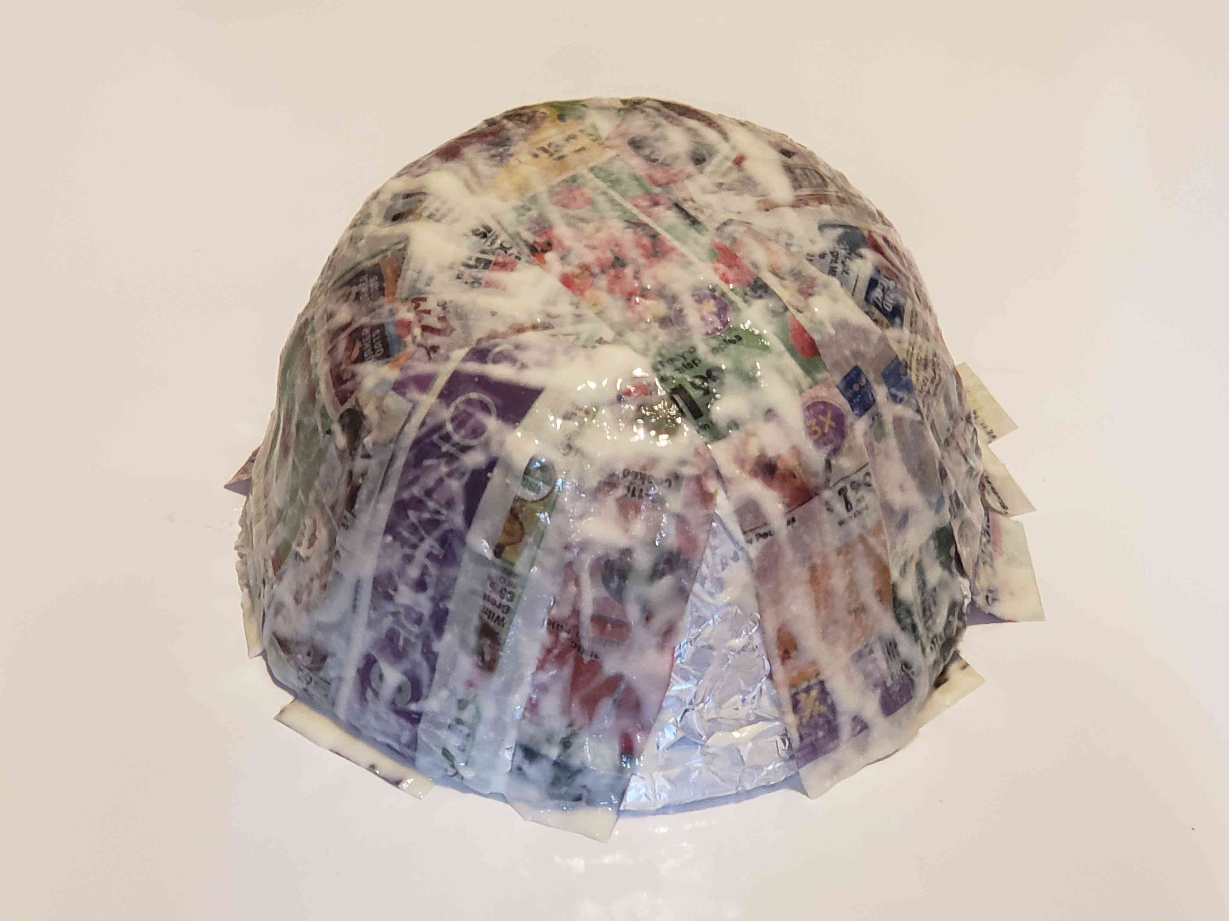 Cover Bowl with Newspaper