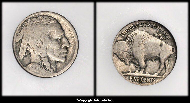 Buffalo Nickel graded Good (G04)
