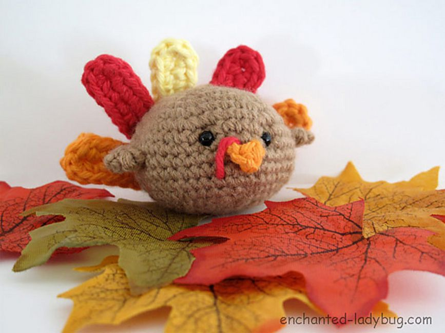 10 Free Amigurumi Turkey Crochet Patterns