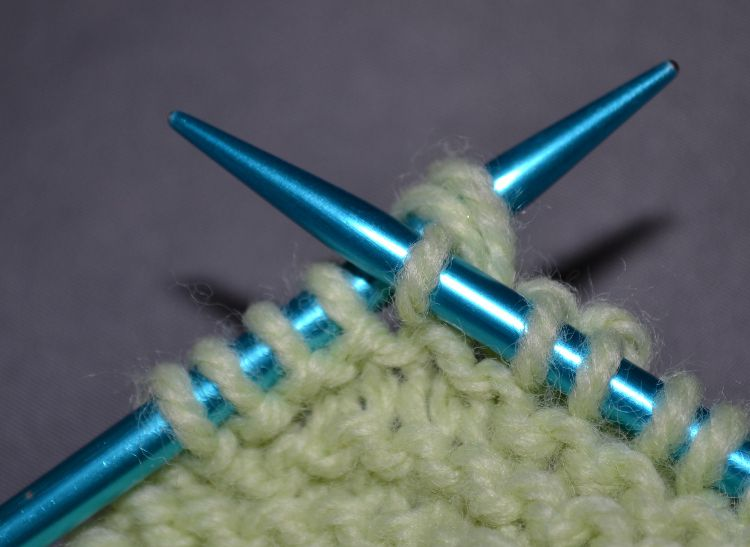 Close up of Working the Stitch Wrap