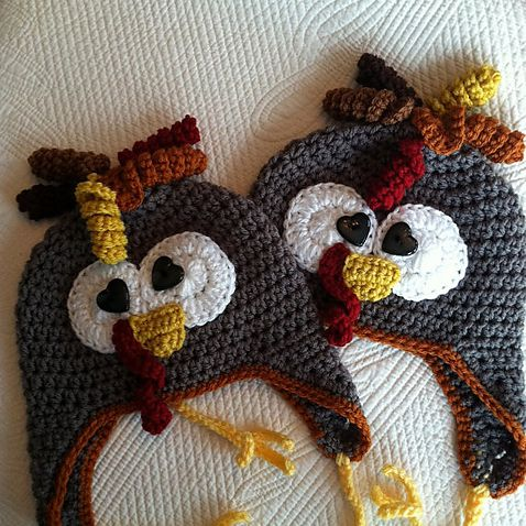 Crochet a Turkey Hat with These Free Patterns de824509b5c