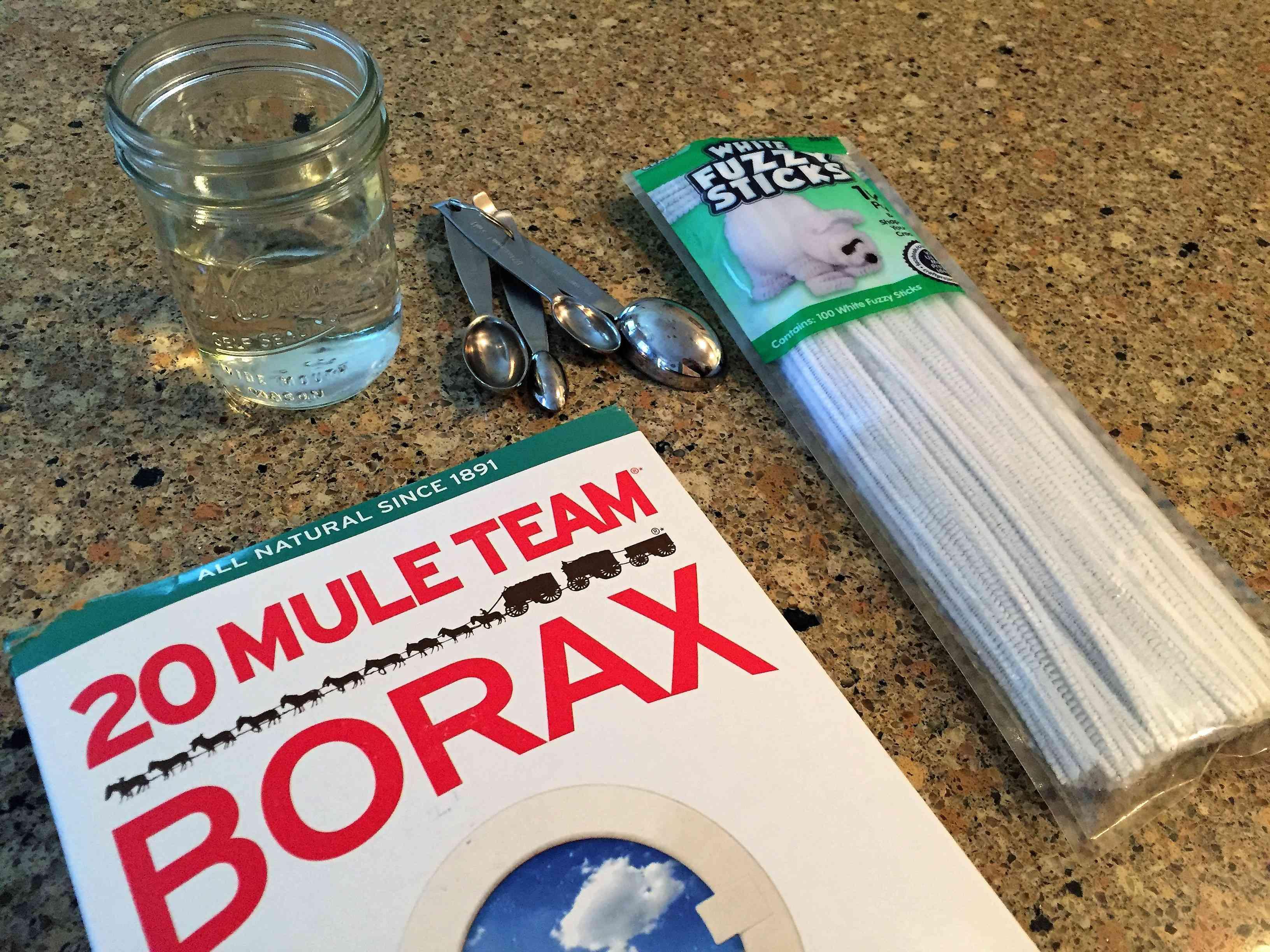 Borax Crystals Supplies