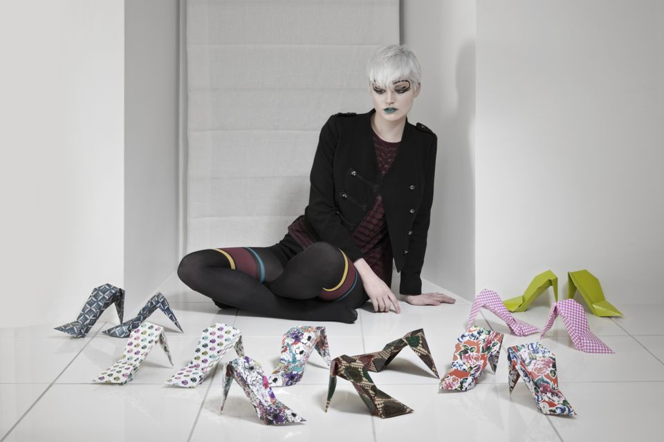 Origami in fashion