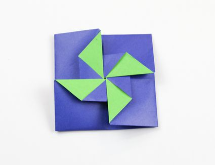origami christmas cards instructions