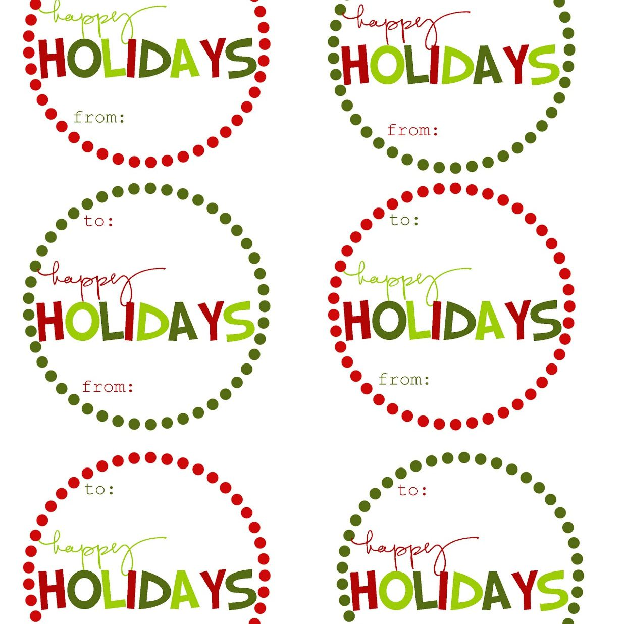 Free Printable Christmas Gift Tags At Mommy By Day Crafter Night