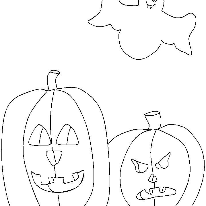 Pumpkin Coloring Pages For Kids From Ws