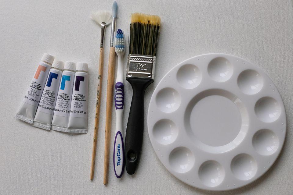 splatter paint supplies