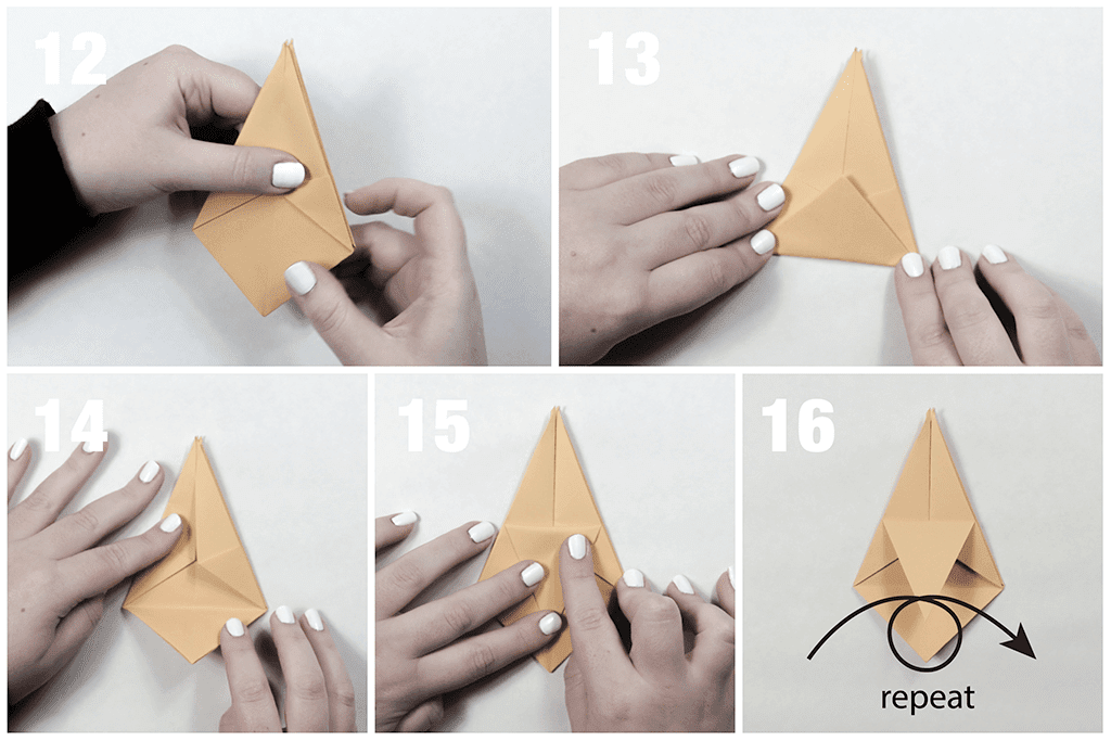 How To Make An Origami Star Box | Origami stars, Origami star box ... | 683x1024