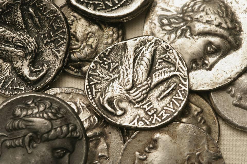 Ancient Roman Denarius coins
