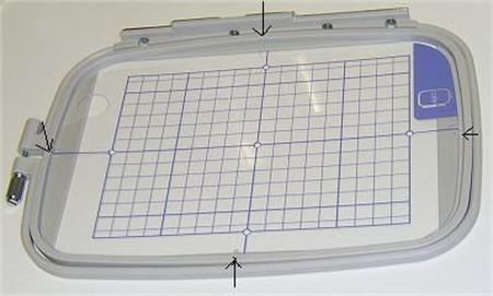 Embroidery Hoop Size For Hand Or Machine Embroidery