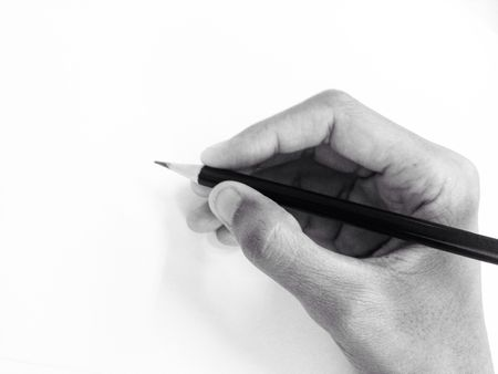 cropped hand of person holding pencil by white wall 681952377 59f0f299d088c00010f85526 - Pencil Drawing courses