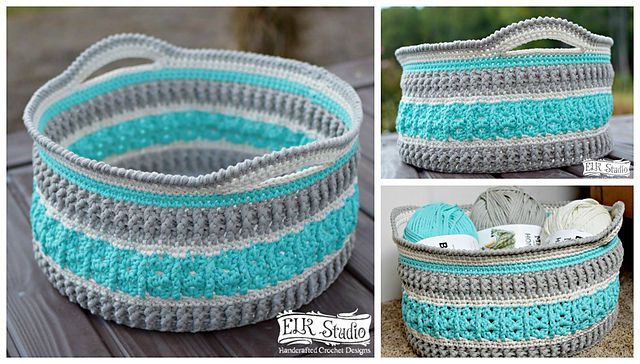 40 Free Crochet Basket Patterns Magnificent Free Crochet Basket Patterns