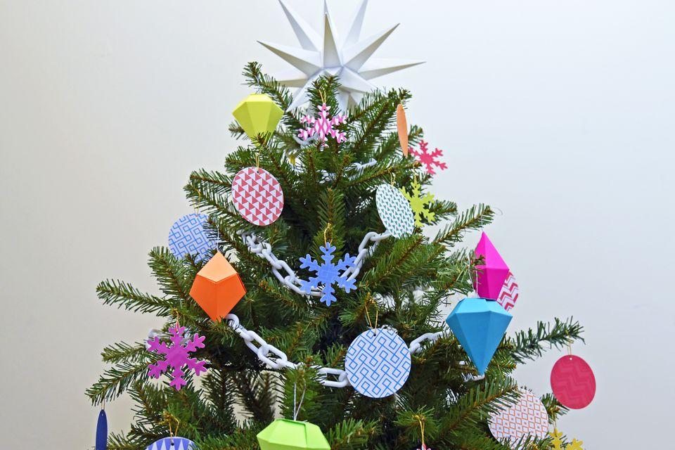 Easy Diy Homemade Christmas Tree Decorations