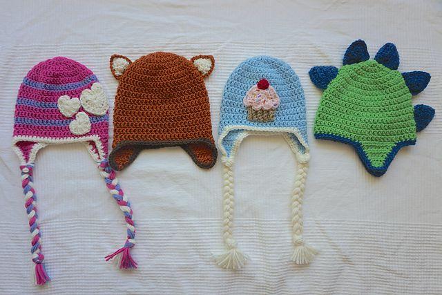 Braided Ear Flap Hat Free Crochet Pattern
