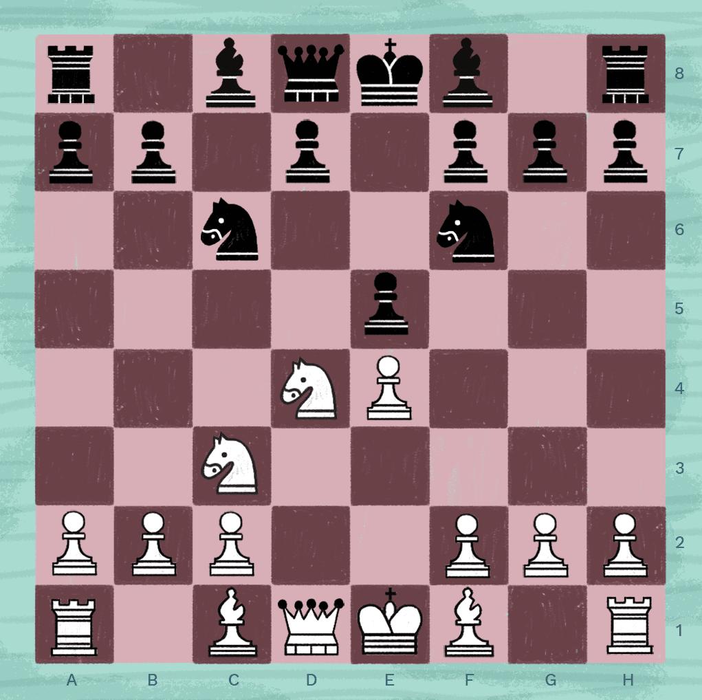 Sveshnikov variation in chess