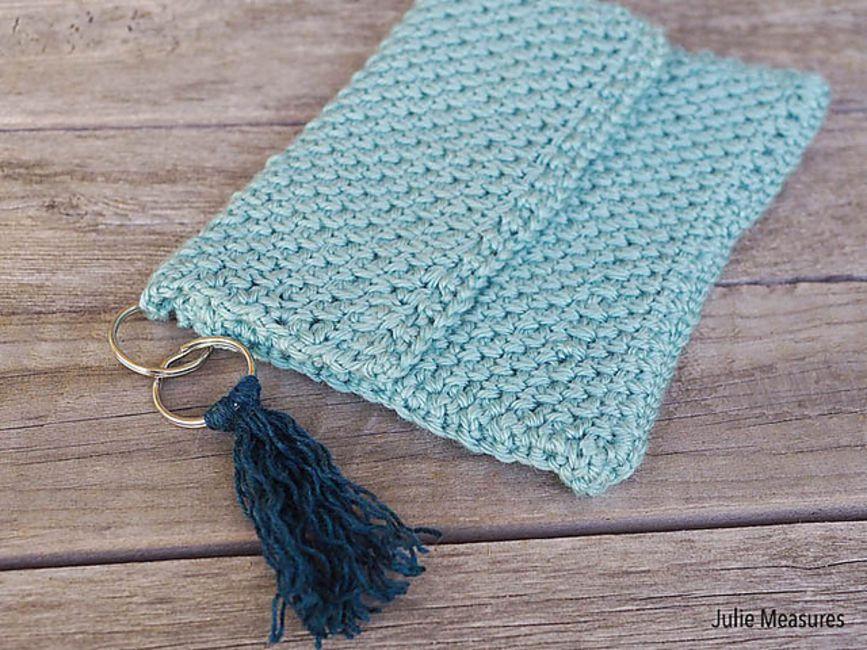 Spring Tassel Clutch Free Crochet Pattern