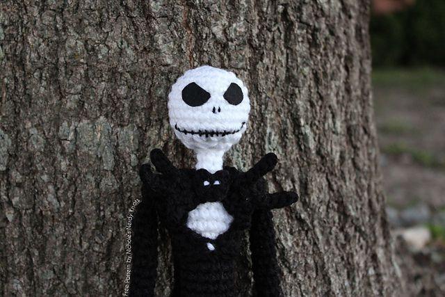 Jack Skellington Amigurumi Crochet Free Pattern