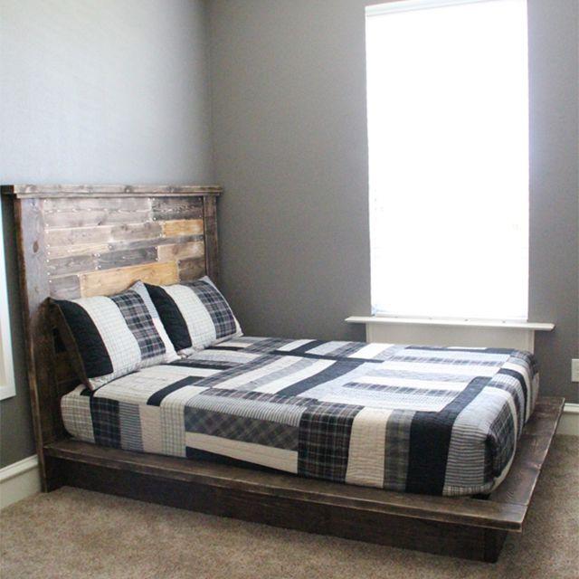 12 Free Diy Platform Bed Plans
