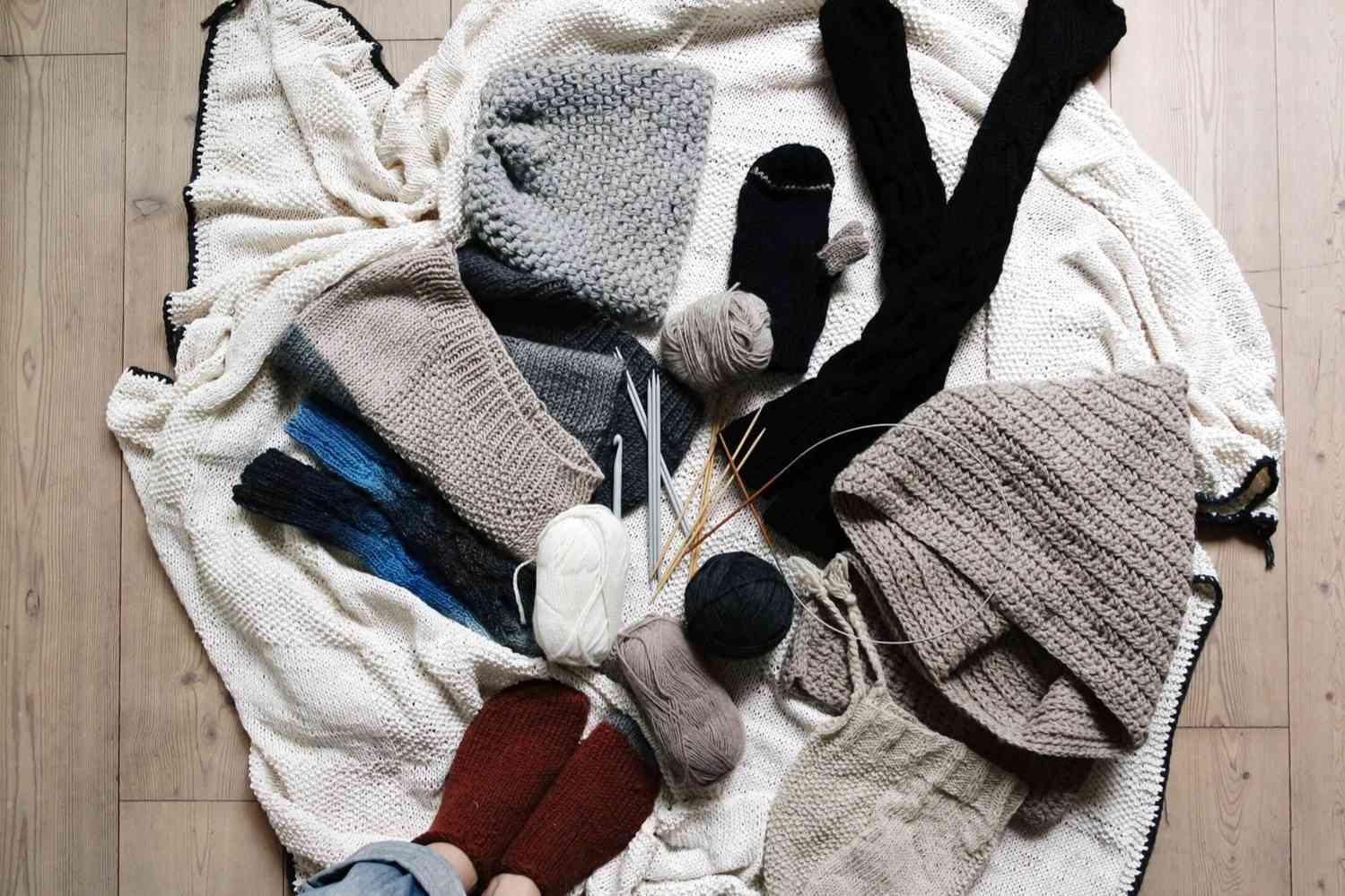 Crocheted clothing and accessories adds to any wardrobe