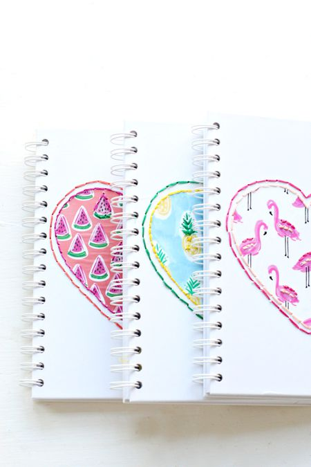 Diy Stiched Notebooks Pretty Life Girls