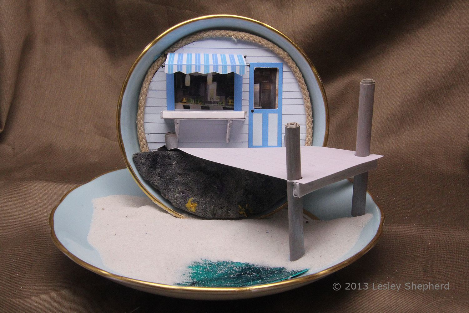 Make A Quarter Scale Miniature Beach Shop Pier And Beach