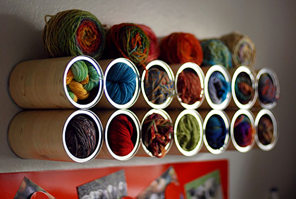 clever yarn storage solutions