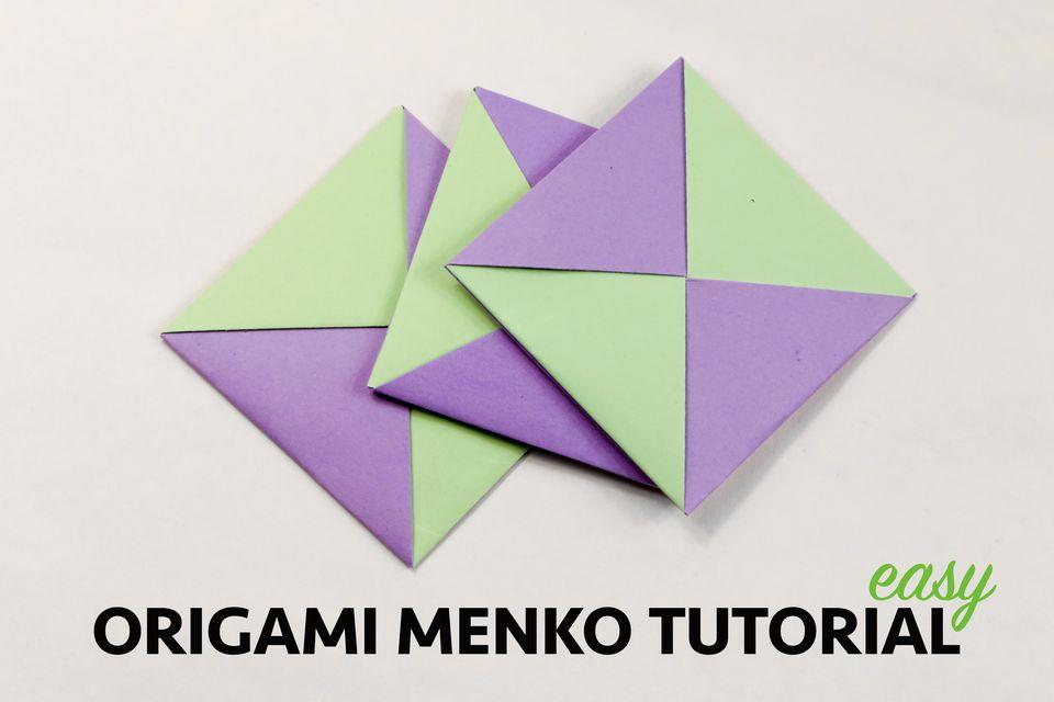 Origami Menko Tutorial