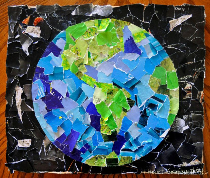 Simple Collage Art Projects