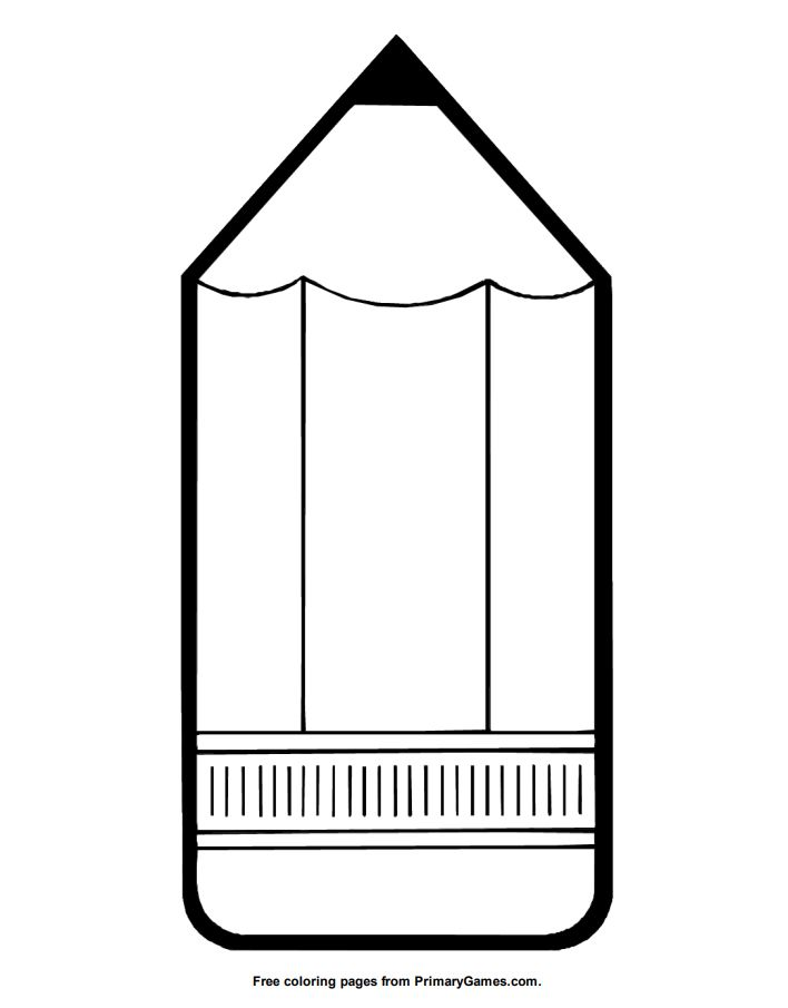 A large pencil