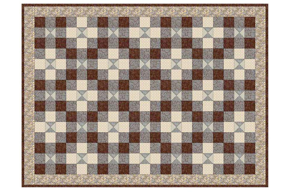 Vintage Look Baby Quilt Pattern