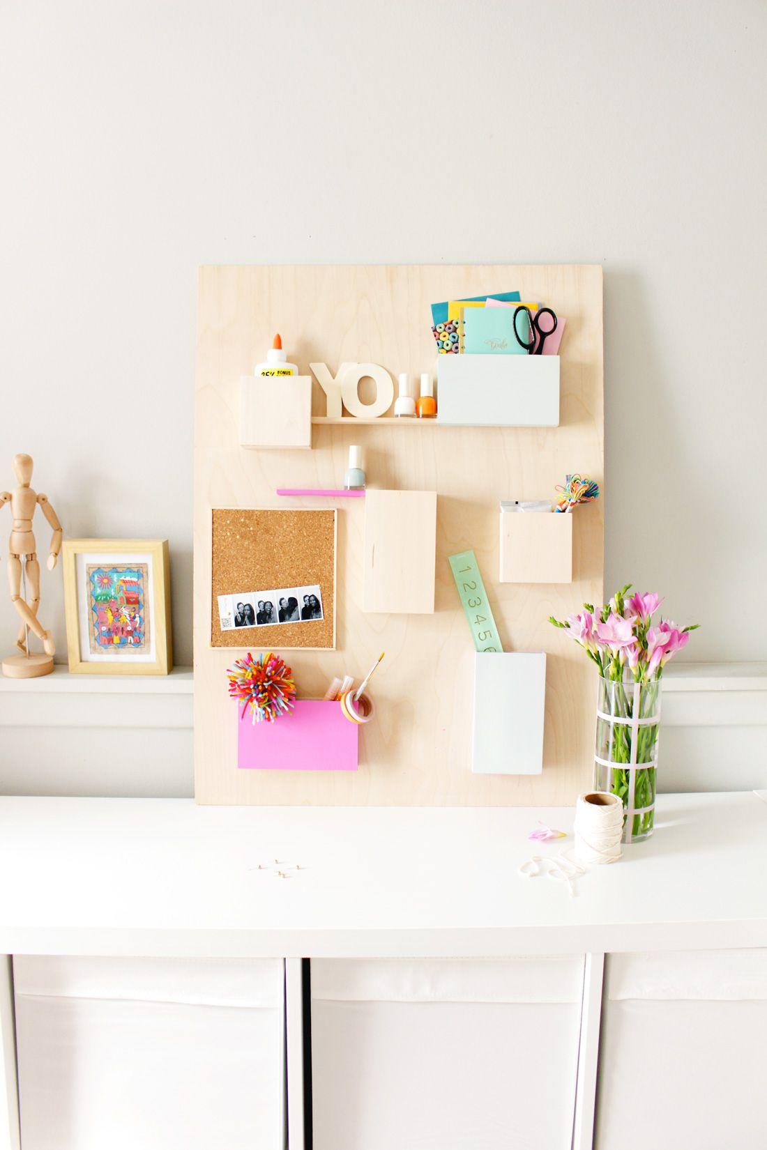 42 diys for a beautiful organized office solutioingenieria Choice Image