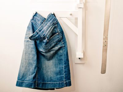 d01ca61978 How to Convert Jeans Into a Skirt