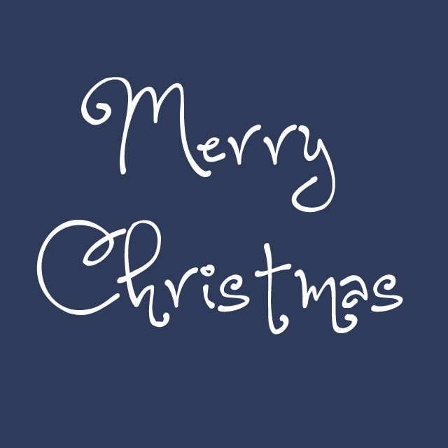 merry christmas in the font one starry night - Christmas Fonts Free