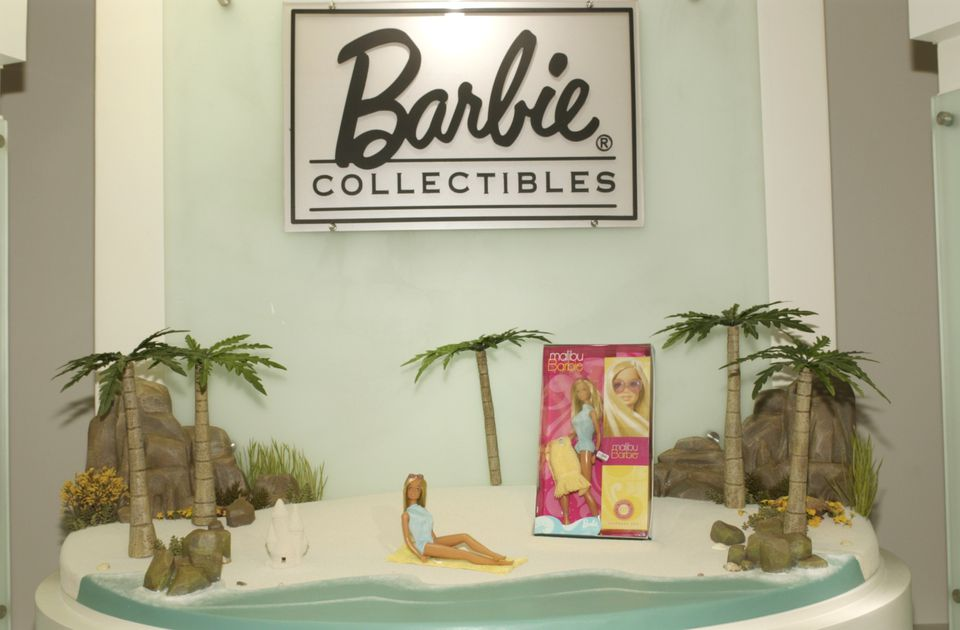 Mattel Inc. Shows Barbies In Fashion AT Toy Show