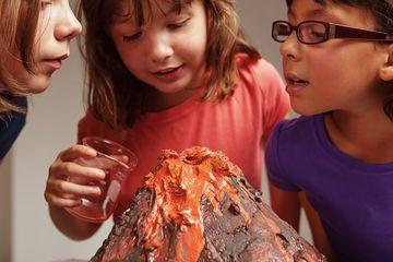 volcano school project
