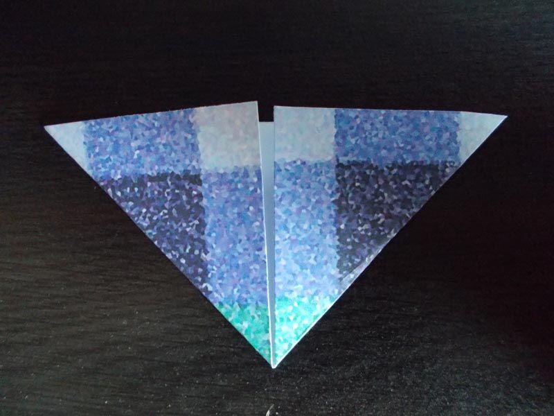 Making An Origami Birthday Card