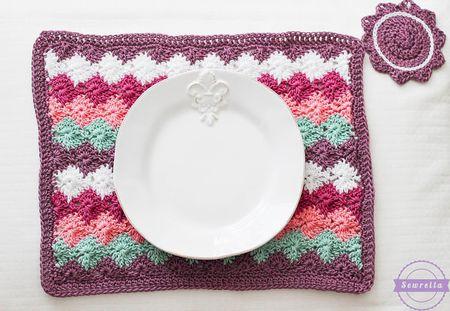 10 Free Crochet Placemat Patterns