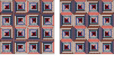 Learn How To Paper Piece A Log Cabin Quilt Block
