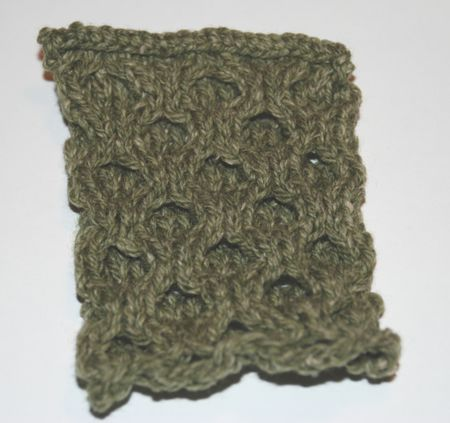 Learn To Knit The Aran Honeycomb Stitch