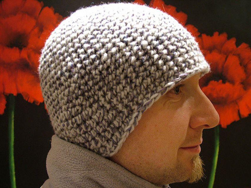 easy crochet hat pattern for men