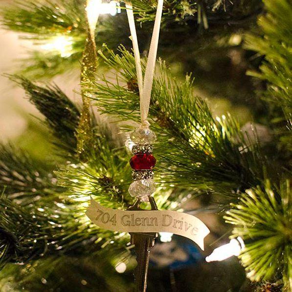 DIY House Key Ornament